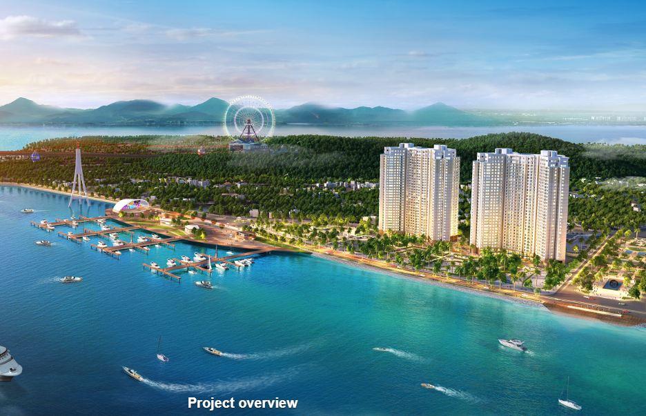 The Sapphire Condotel Hạ Long nằm cạnh vịnh