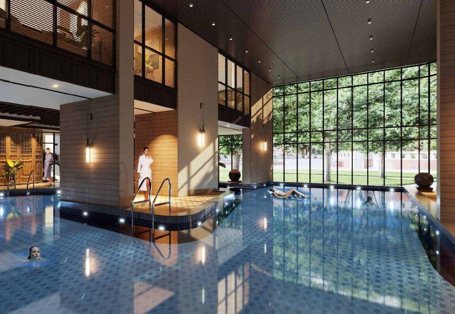 Tiện ích bể bơi Sapphire Ha Long