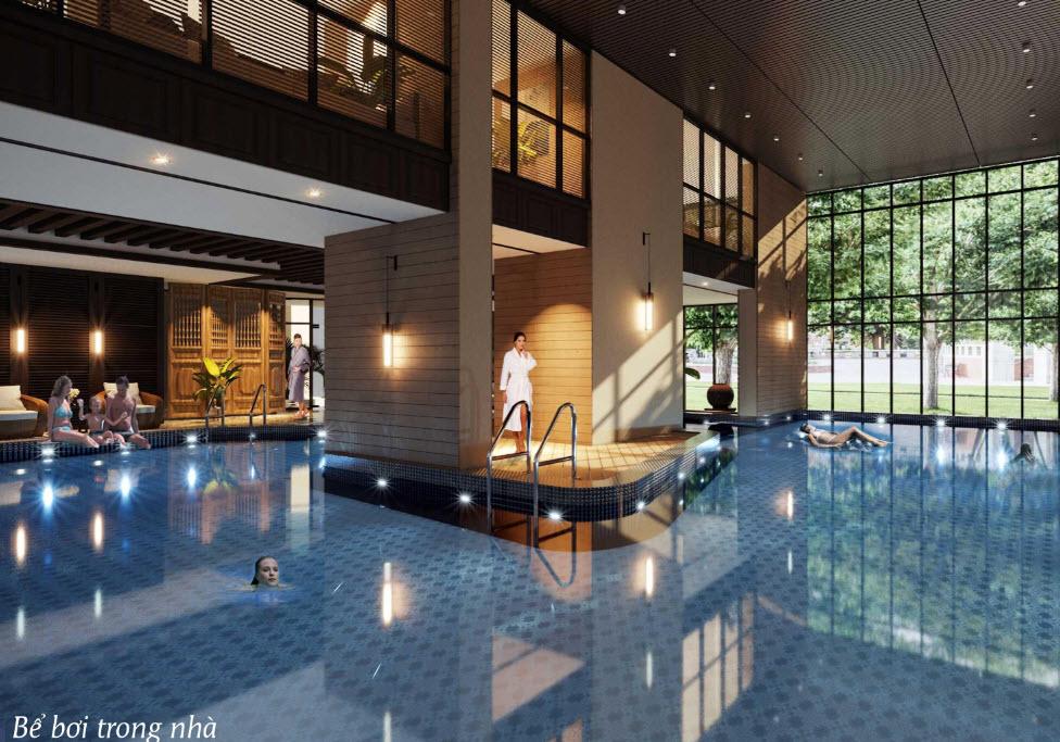 Tiện ích bể bơi trong nhà Best Western Premier Sapphire Hạ Long